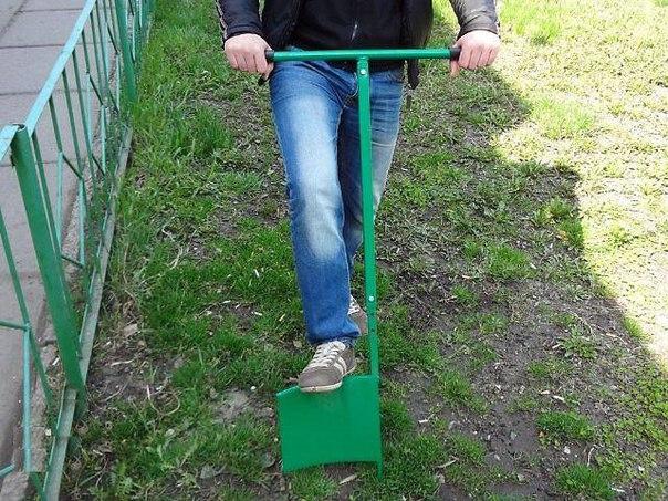 Удобные лопаты для огорода своими руками