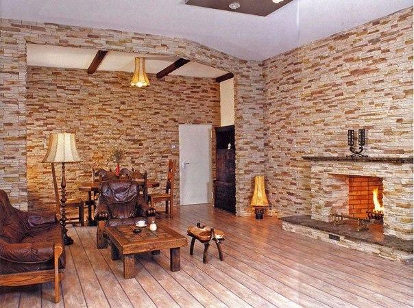 Внутренняя отделка кирпичного дома