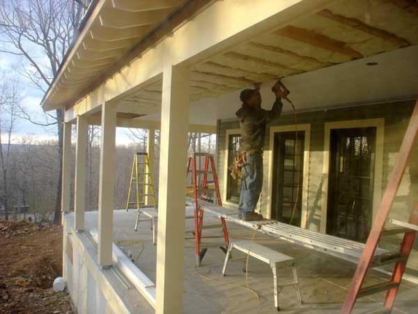 Пристроить веранду к деревянному дому пошагово